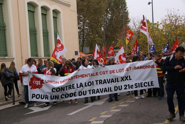 grèves octobre 2017